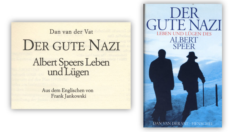 The good Nazi Albert-Speer-Übersetzung