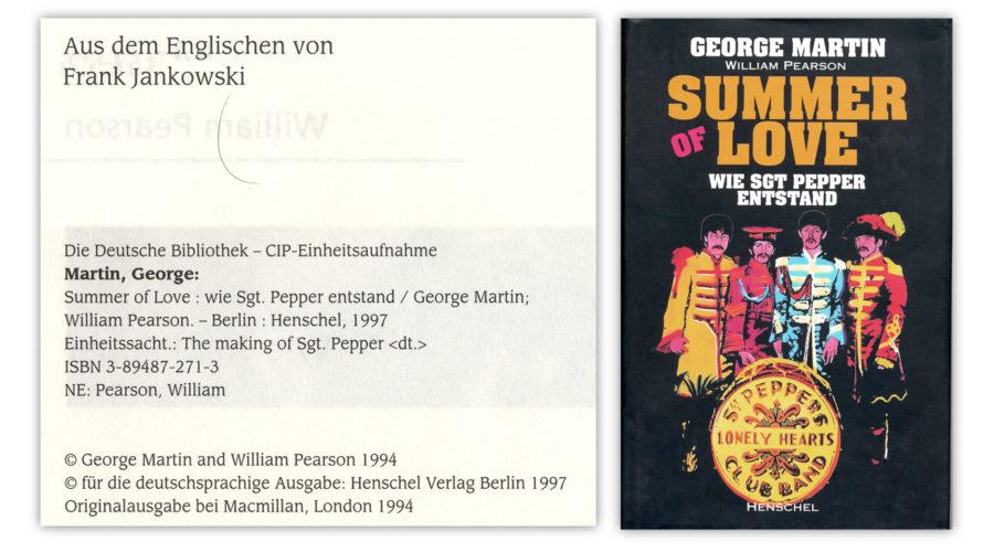 Beatles-Übersetzung Summer of love